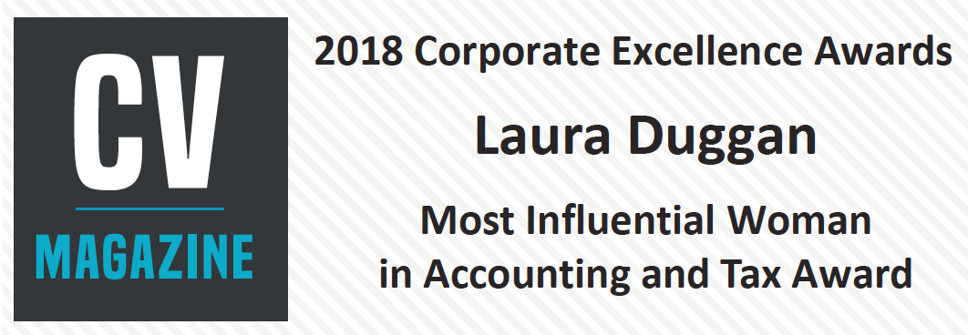 Laura Duggan, Most Influential Woman in Accounting Award