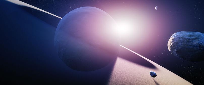 asteroid explores